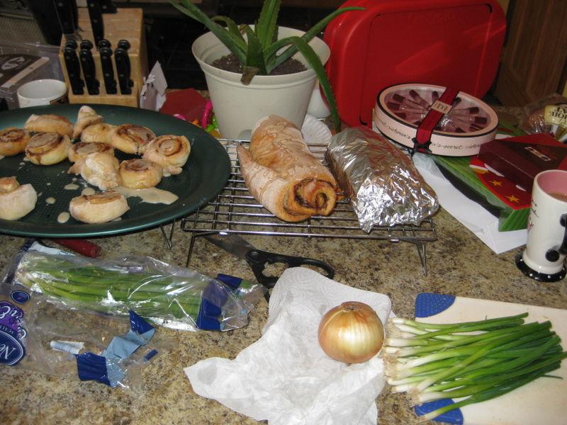 Food Prep Christmas 2008