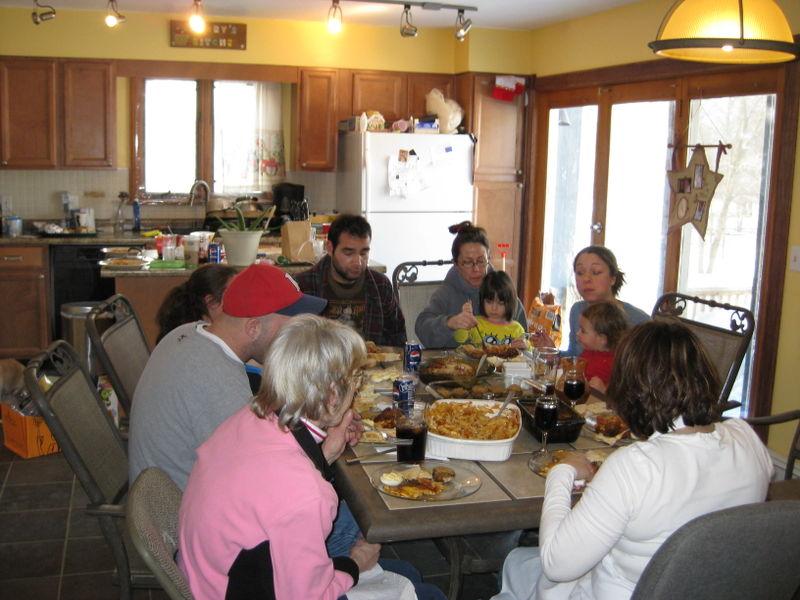 Christmas 2008 dinner